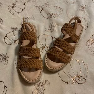 Woven Strap Espadrille Sandals